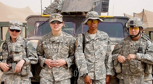 Sexual harassment in the military stories